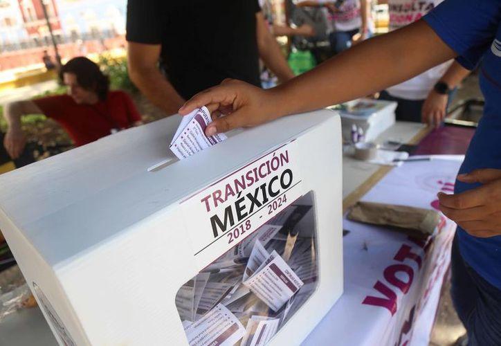La consulta es sobre el Nuevo Aeropuerto Internacional de México. (vanguardia.com)