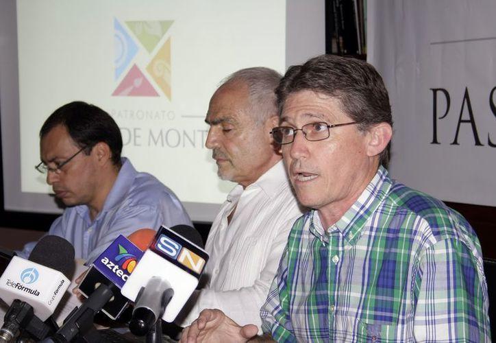 Integrantes del Patronato del Paseo de Montejo. (Milenio Novedades)