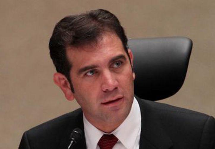 Lorenzo Córdova Vianello, presidente del INE, garantizó un sistema de fiscalización en línea que será exhaustivo, riguroso y robusto. (Archivo/Notimex)