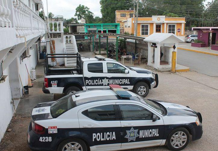 Los policías municipales acusados, fueron denunciados ante la autoridad correspondiente. (Gloria Poot/SIPSE)
