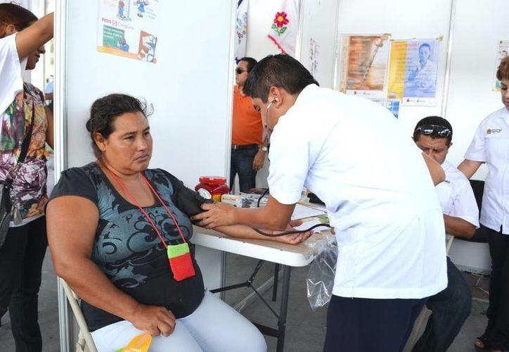 Los Servicios Estatales de Salud brindaron consultas gratuitas. (Redacción/SIPSE)