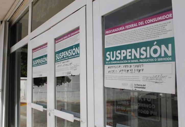 La procuraduría inició el operativo a establecimientos enfocados en la venta turística desde el 19 de julio y concluyeron el 21 de agosto. (Redacción/SIPSE)