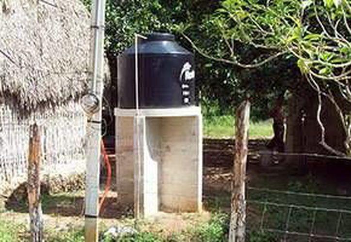 Con la inversión se instalaron 233 tomas domiciliarias en casas de la Zona Maya. (Redacción/SIPSE)