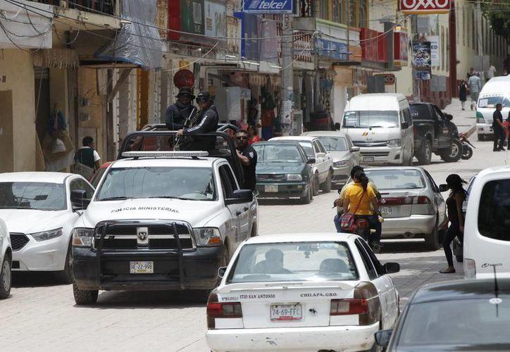Chilapa vive en la zozobra desde el pasado 9 de mayo, cuando se registró el primer sitio de la ciudad. (EFE)