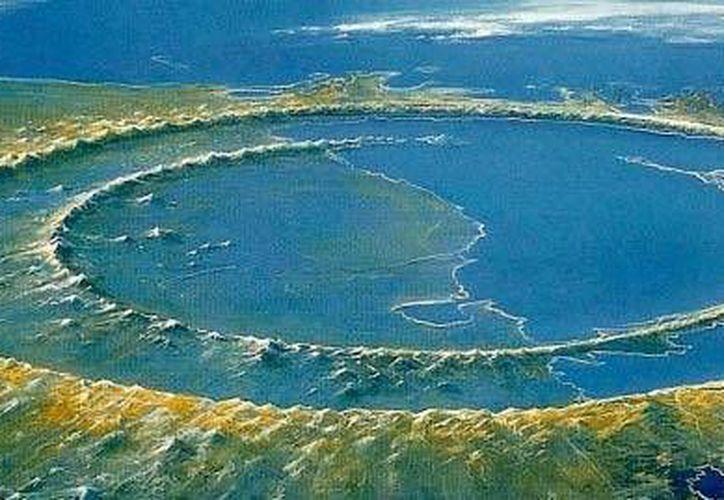 Según científicos, el Cráter de Chicxulub es el único vinculado a un evento de extinción masiva. (Archivo/Agencias)