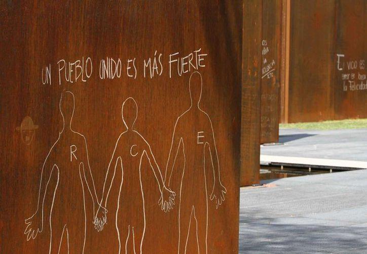 La dependencia busca reducir los delitos que afectan sensiblemente a la sociedad. En la imagen, un aspecto del Memorial de Víctimas de la Delincuencia en la Ciudad de México. (Archivo/Notimex)