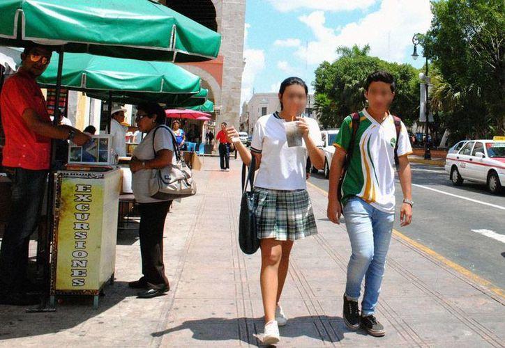 Aunque la mayor parte del país puede tender lluvias fuertes este sábado, incluida la Península de Yucatán, las altas temperaturas prevalecerán en la mayoría de las entidades. La imagen es únicamente ilustrativa. (Milenio Novedades)