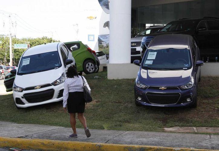 En este destino turístico hay más de 25 agencias de autos. (Tomás Álvarez/SIPSE)