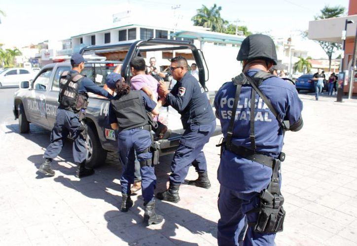 Destacó que el ser policía también implica, hoy en día, tener mayor conocimiento jurídico. (Carlos Horta/ SIPSE)