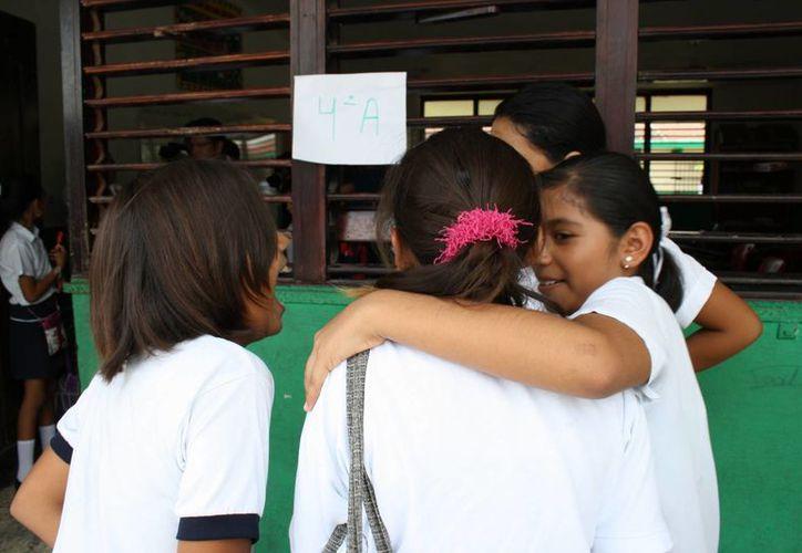 El bullying es mas común en secundaria y preparatoria, por eso se busca corregir desde kinder.(Paloma Wong/SIPSE)