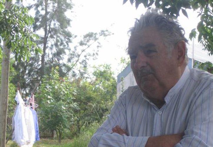 El presidente de Uruguay, José Mujica, durante la entrevista con Foreing Affairs. Entre otras cosas, habló del caso Ayotzinapa y se refirió a México como un 'Estado fallido'. (Agencias)