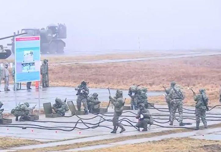 Durante décadas estas tropas han garantizado que el enemigo nunca se atreviera a usar armas químicas. (YouTube)