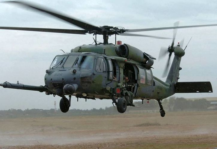 Los helicópteros Pave Hawks son utilizados con frecuencia misiones de búsqueda y rescate durante combates.(worldsairforce.webs.com)