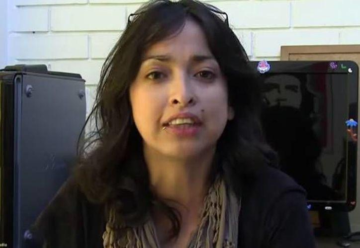 Nadia Vera formaba parte de importantes movimientos estudiantiles en el estado de Veracruz, de donde huyó para refugiarse en la Ciudad de México. (Captura de pantalla/YouTube)