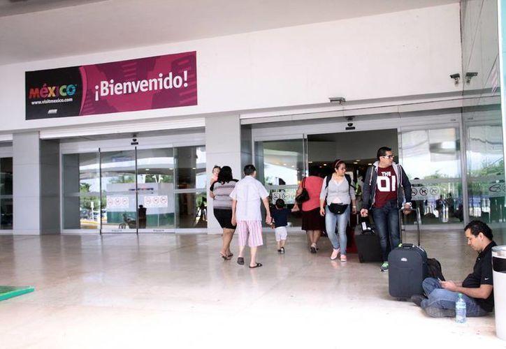 Cada vez hay más opciones aéreas hacia todo el mundo desde el Aeropuerto Internacional de Mérida. (Milenio Novedades)