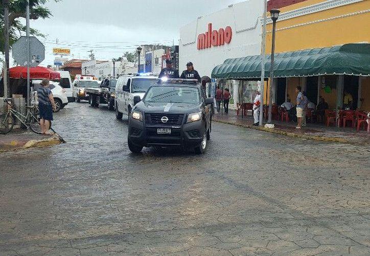 La policía municipal de Progreso tiene el reporte de 144 personas detenidas en la presente temporada vacacional. (Gerardo Keb/SIPSE)