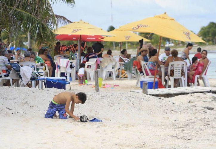Esperan que en Semana Santa aumente la afluencia de turismo.(Harold Alcocer/SIPSE)