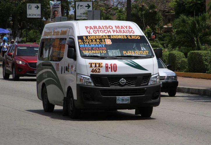 Transporte Terrestre Estatal cuenta con 400 unidades para toda la ciudad. (Tomás Álvarez/SIPSE)