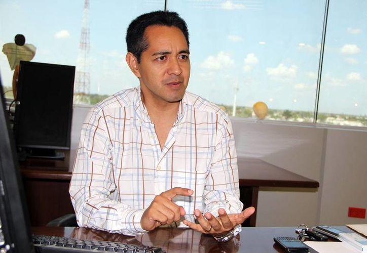Jesús Vega Herrera dijo que la cultura de las patentes se consolida en Yucatán. (Milenio Novedades)