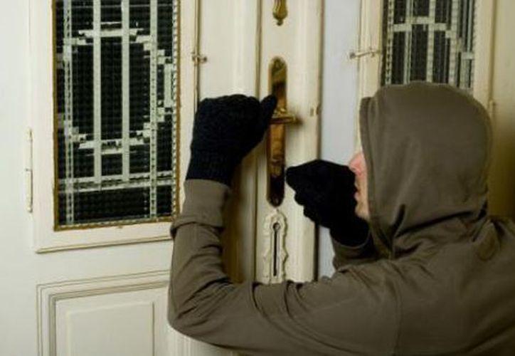 Evita que alguien ingrese a tu casa y robe tus pertenencias. (Milenio)
