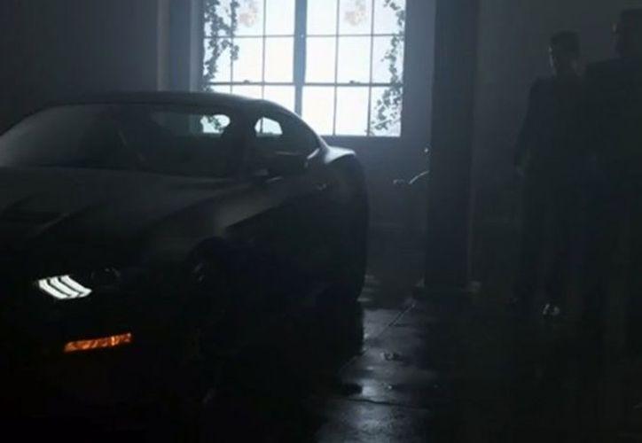 El prototipo del automóvil tiene más que un potente motor V8. (Foto: Excélsior).