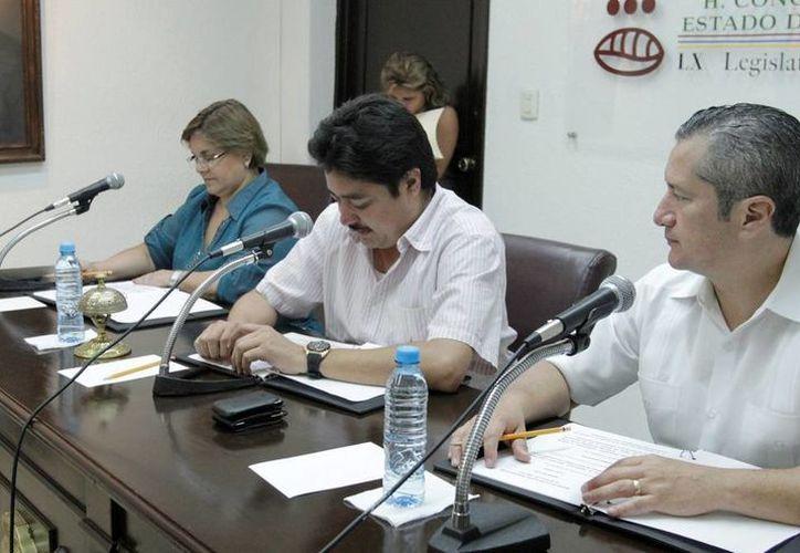 Clausura de la Diputación Permanente que fungió en el periodo de receso del 16 de abril al 15 de mayo. (Cortesía)