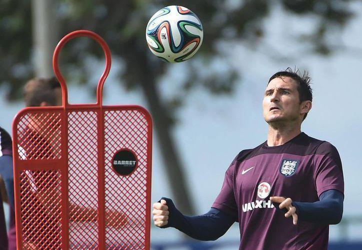 Lampard, emblema del Chelsea, ahora jugará en Estados Unidos. (EFE)