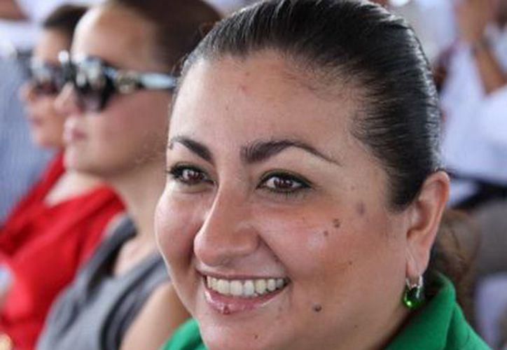 Silvia Inés Solís Gómez, dijo que existen 604 mil 501 afiliados al Seguro Popular.  (Redacción/SIPSE)