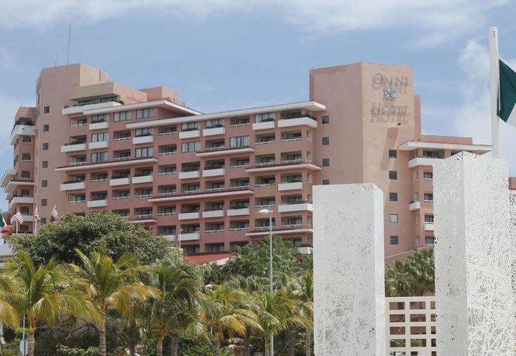 En este mes disminuye la actividad turística en el hotel. (Israel Leal/SIPSE)