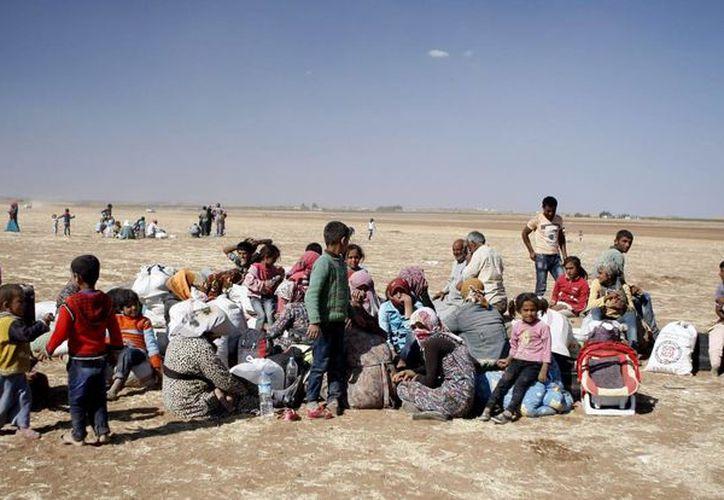 Frecuentemente hay casos de madres que dan a luz en países a los que huyeron por la violencia en su propia tierra, como por ejemplo de la guerra civil en Siria. (Archivo/EFE)
