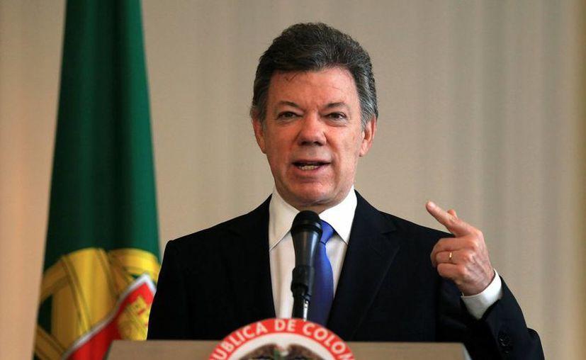 Santos resaltó que durante su gobierno se han creado en Colombia más de dos millones de plazas de trabajo. (EFE)
