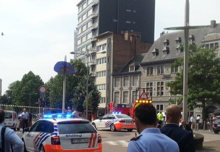 La Policía ha acordonado la zona alrededor del bulevar Avroy, en el centro de la ciudad. (RT)