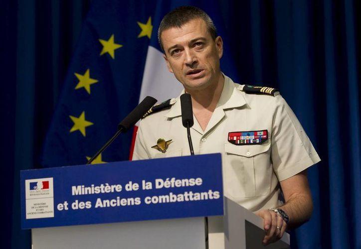 El portavoz del Estado Mayor del ejército francés, el coronel Thierry Burkhard. (EFE/Archivo)