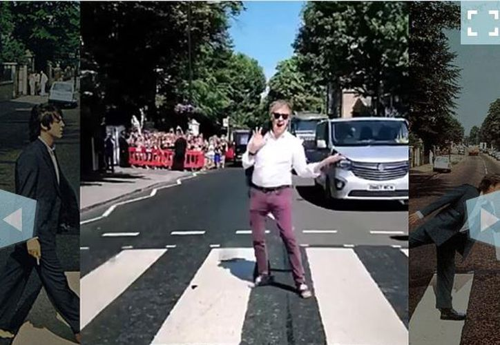 El único Beatle vivo junto al baterista Ringo Starr, ha vuelto a cruzar la calle icónica rumbo a los estudios Abbey Road. (Foto: Instagram)