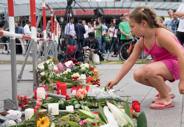 El joven alemán mató a tiros a nueve personas, en un centro comercial de Múnich, el pasado viernes. (AP)