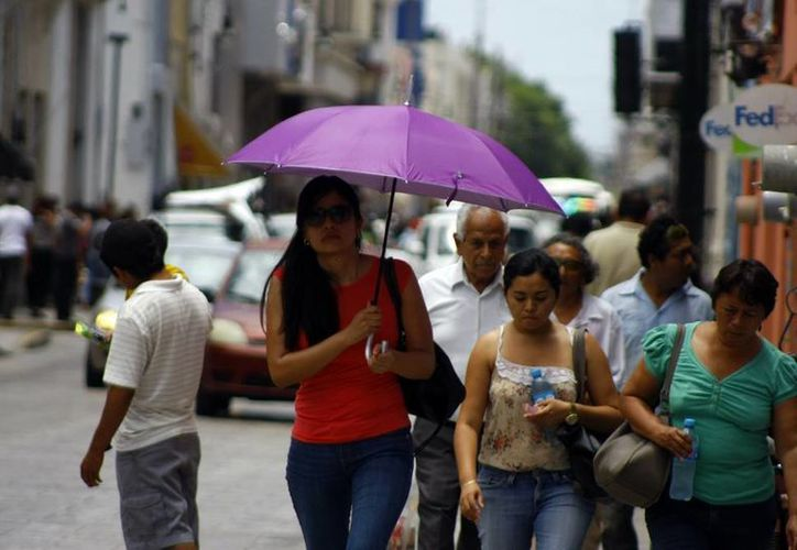 Para hoy se esperan en Mérida temperaturas muy calurosas. (José Acosta/SIPSE)