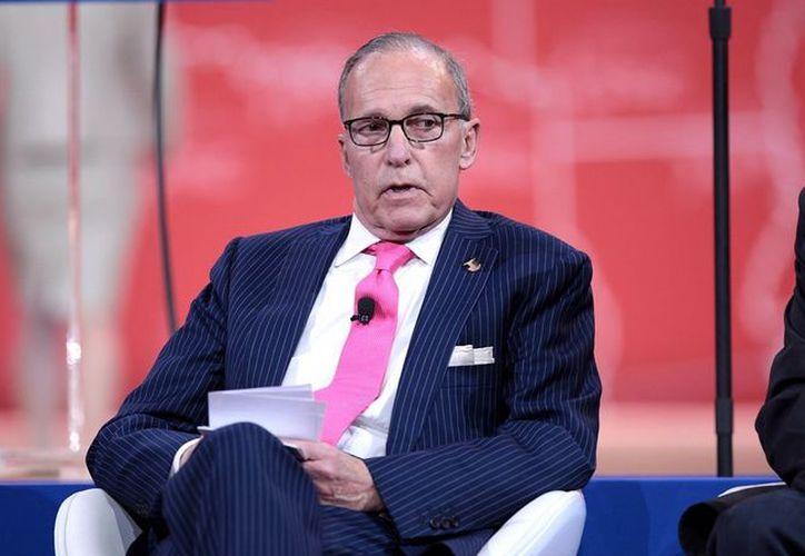El presentador TV, Larry Kudlow, podría ser el nuevo asesor financiero de Donald Trump. (Foto: Neway)