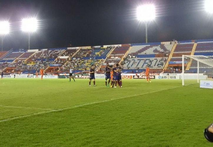 Atlante logra sumar sus primeros tres puntos del Torneo Apertura. (Raúl Caballero/SIPSE)