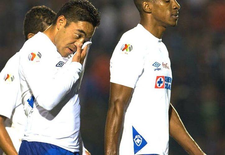 Marco Fabián se preparó mentalmente para regresar al Estadio Omnilife con la playera del Cruz Azul. (MILENIO)
