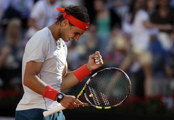 'Estoy muy feliz, después de un año muy difícil para mí', declaró Rafael Nadal. (Agencias)