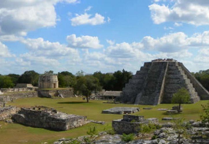 Imagen de Mayapán (Tomada de internet)
