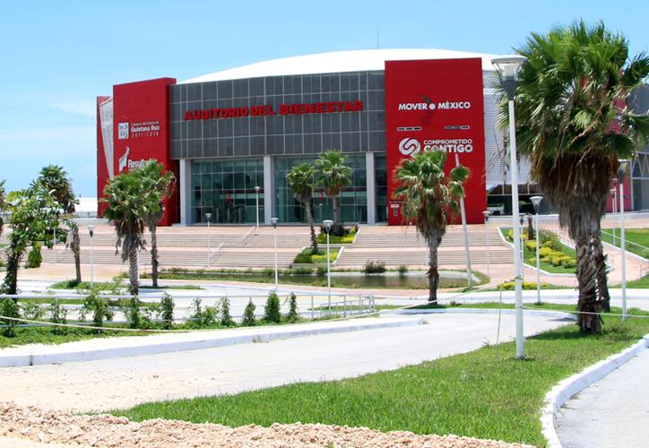 El auditorio fue construido originalmente para albergar a 12 mil espectadores. (Paola Chiomante/SIPSE)