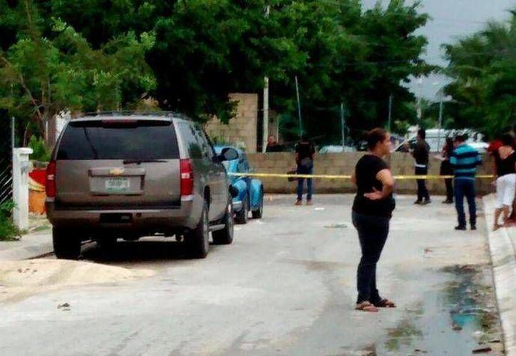 El taxista fue asesinado en octubre pasado. (Eric Galindo/SIPSE)