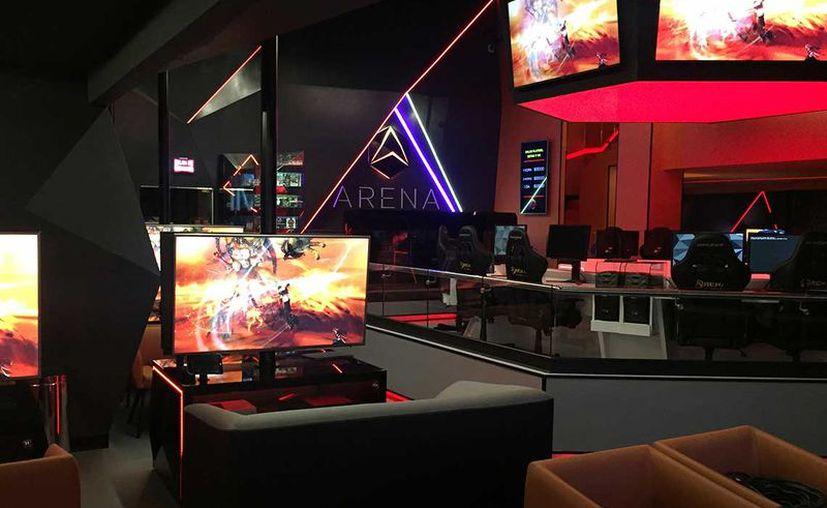Arena es una nueva forma de entretenimiento con la introducción de los videojuegos. (Especial)