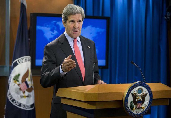 John Kerry señaló que la violencia impide la transición hacia un gobierno civil. (Agencias)