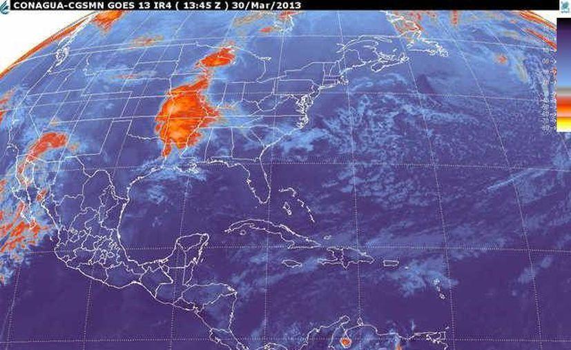 Soplarán vientos del este y noreste de 20 a 40 km/h con rachas de 60 km/h. (smn.cna.gob.mx)
