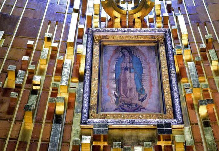 Ahora ya es posible observa la imagen de la Virgen de Guadalupe en vivo y a distancia. (Interenet)
