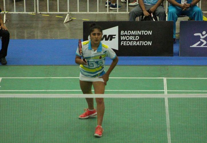 Luciana Verástegui dijo que está motivada para participar en la competencia. (Raúl Caballero/SIPSE)