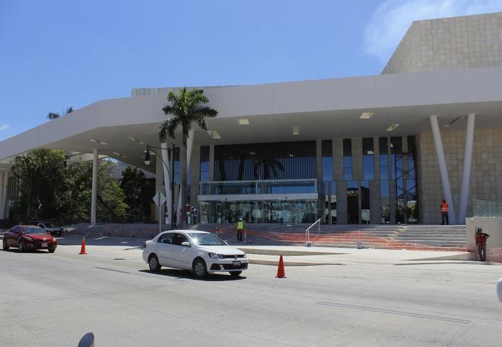 Para el nuevo Centro Internacional de Congresos ya hay contratados 16 eventos. (SIPSE)