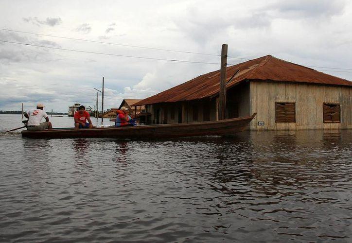 La temporada de lluvias, que en Bolivia se extiende de octubre a marzo, fue en 2014 una de las más devastadoras de las últimas décadas. (EFE/Archivo)